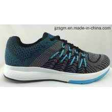 Hot Sale Comfort Flyknit Running Sports Shoes with MD Outsole