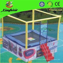 2014 CE Safety Le trampoline carré idéal pour les enfants