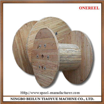 wooden cable spool for sale