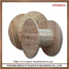 wooden craft yarn spools