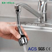 Doflex Faucet Sink Hose ACS SGS CE Quality Certificated Stainless Steel Collapsible Popular kitchen and bath accessories