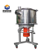 High frequency soybean circular vibrator sieve machine