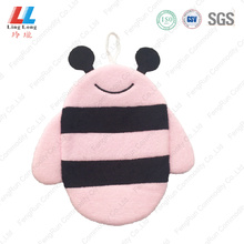 Pink bee lovely animal bath gloves