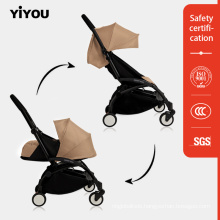 New Design Alloy Frame Dual Stroller