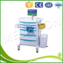 Deluxe Verstellbare manuelle Krankenhaus Ward Chirurgie Trolleys für Babys