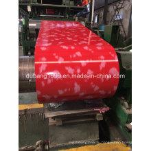 Оцинкованная сталь с полимерным покрытием белого цвета Produing от производства