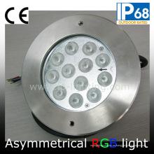 Luz subacuática de la piscina del RGB 36W LED asimétrica (JP948124-AS)