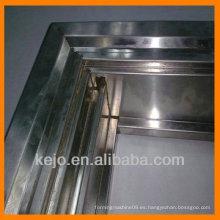 Marco de puerta de acero personalizado material de construcción de rollo que forma la máquina