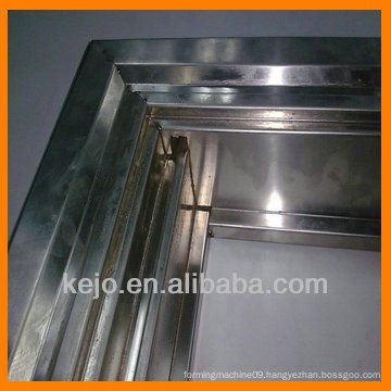 customized steel door frame building material roll forming machine