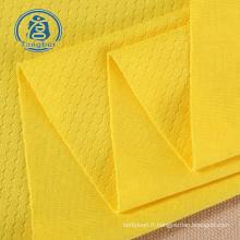 Tissu jersey de football 100% polyester pour survêtement