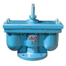 Поставка двухпортового выпускного клапана Высокопроизводительный выпускной клапан из нержавеющей стали