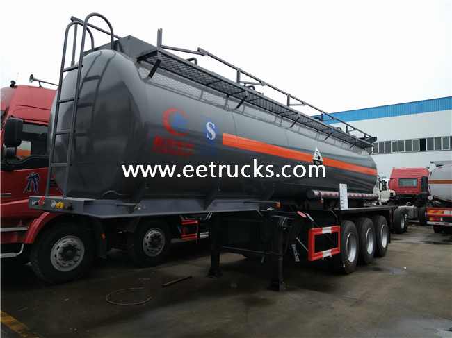 20000 Liters Sulfuric Acid Transportion Trailers