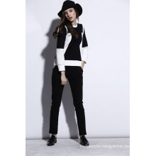 Wholesale High Quality Women Leisure and Sport Black Suits