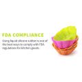 Küchenprodukte aus Gummi in Lebensmittelqualität