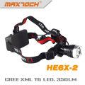 Maxtoch HE6X-2 XML T6 haute puissance Cree Led projecteur