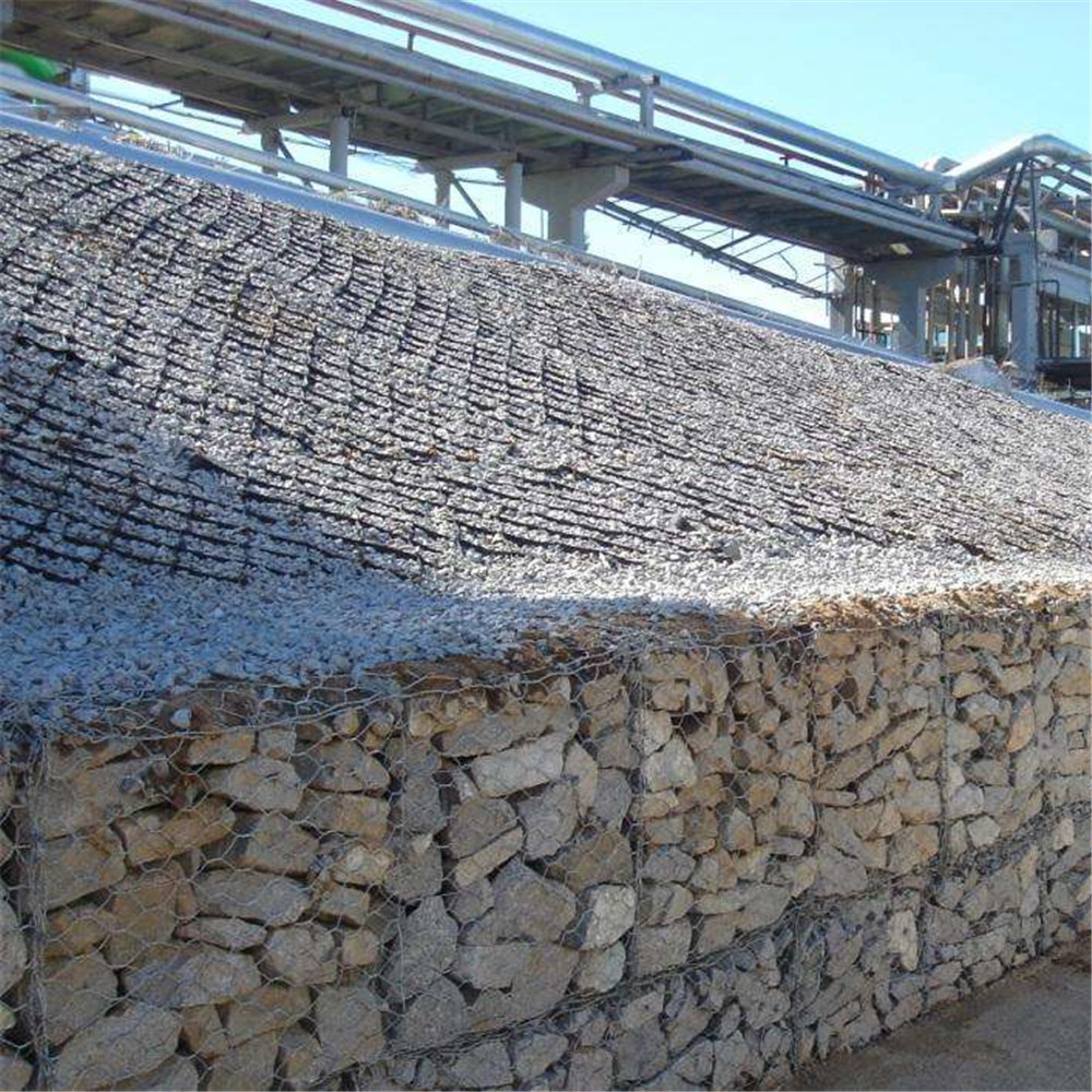 Stone Hex Gabion Box