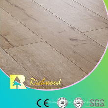 Household 12.3mm HDF Maple V-Grooved Waxed Edged Laminated Floor