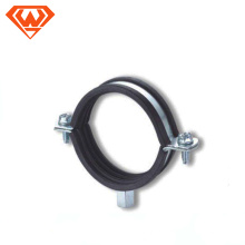 fabricante de aço carbono ou braçadeira de tubo de aço inoxidável com porca