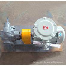 Pompe à huile à engrenages durable KCB avec moteur à engrenages Ex