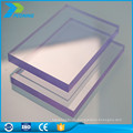 100% Virgin Bayer Material leichte transparente Plastikdach Materialien Panel