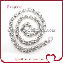 Ожерелье цепи нержавеющая сталь уплотнительное оптом для мужчин