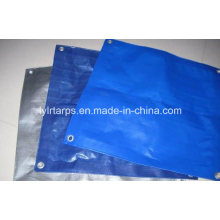 Various Color of PE Tarpaulin Cover with Good Finished Size, PE Tarp Cover