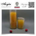 100% coton chanvre wick verre jar bougie