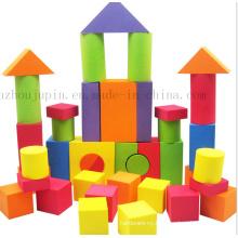 Custom EVA Children Kids Puzzle Construction Building Block Toy