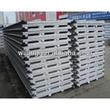 POLYSTYRENE sandwich panel/EPS sandwich panel/EPS sandwich roof panel/EPS Color Steel Insulation Sandwich Panel