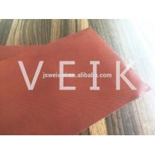 Nouveaux produits téflon enduit PTFE verre tissu rouge couleur