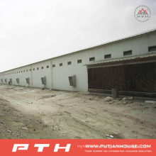 2015 Prefab Customized Large Span Steel Structure Warehouse From Pth