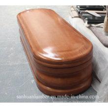 Euro estilo ataúdes de madera y ataúdes / nuevo modelo Ataudes para español