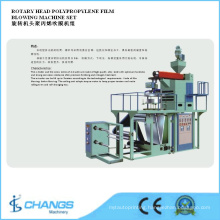 Sjpp-75/800 Rotary Head Polypropylene Film Blowing Machine Set
