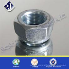 Porca hexagonal DIN934 de alta precisão da China
