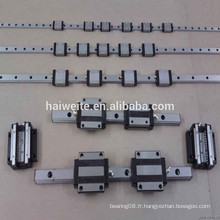 Guide linéaire et ferroviaire linéaire linéaire BRH30B / BRH30BL de haute qualité