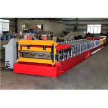 Máquina formadora de rollos de cubierta de piso de metal corrugado