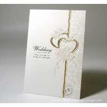 Luxury Customized Cardboard Greeting Card Invitation Card Printing