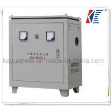 Transformador de aislamiento de alta calidad o fase trifásica