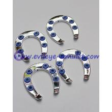 Blue evil eye Horseshoe pendant acrylic accessories