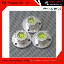 Инструменты для выравнивания уровня пузырьков алюминия круглые