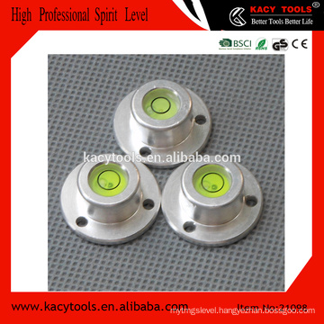 aluminum round circular bubble level leveling tools