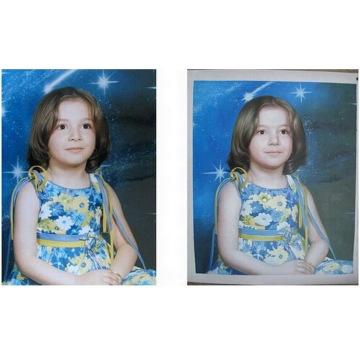Холст Портрет масляной живописи из фото