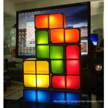Creative Stackable Tetrix led bedroom night table Lamp