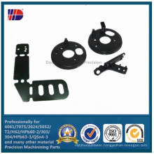 China Supplier Black Anodizing Sheet Metal Stamping Parts (WKC-201)