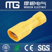 FDFD 22-16 Elektrischer vollisolierter weiblicher männlicher Kupferdraht-Verbindungsstück