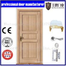 Porte intérieure en bois de style populaire de shaker de forces de défense principale