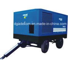 Electric Driven Construction Portable High Pressure Screw Air Compressor (PUE90-13)