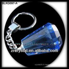 K9 Blank Crystal Keychain pour la gravure laser 3d