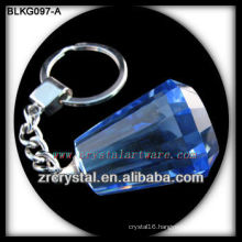 K9 Blank Crystal Keychain for 3d laser engraving