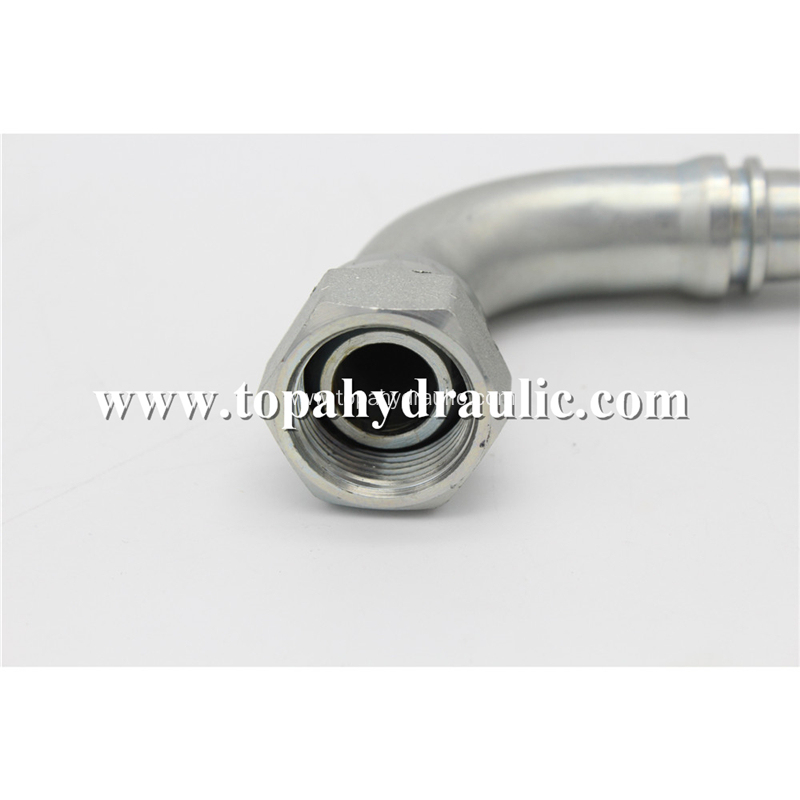 22691 Hydraulic hose end stainless steel pipe fitting